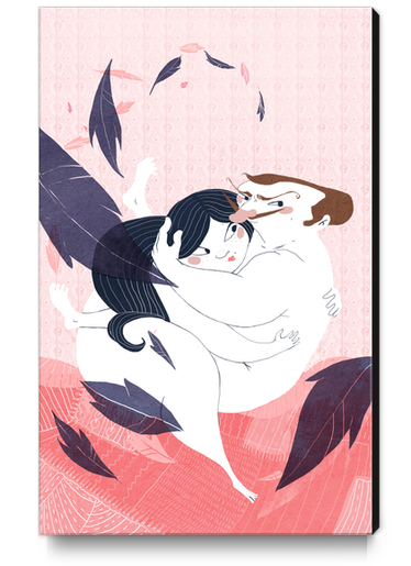 Nuit d'amour Canvas Print by Florehenocque