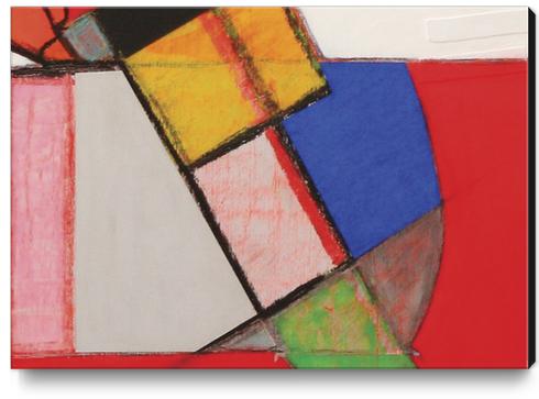 Pendule Canvas Print by Pierre-Michael Faure
