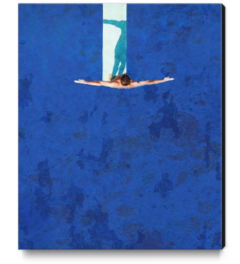Le Plongeoir Canvas Print by Malixx