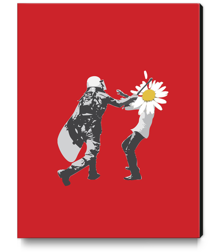 Flower Riot Canvas Print by tzigone