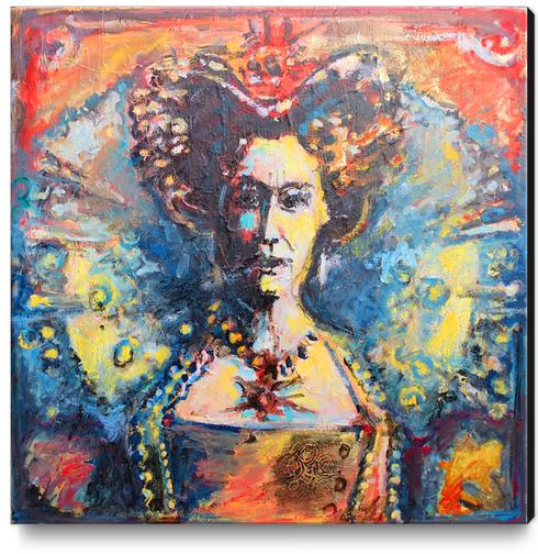 Solar Queen Canvas Print by Georgio Fabrello
