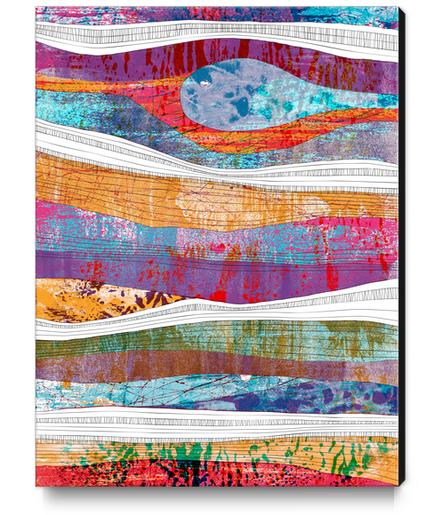 sotterraneo Canvas Print by junillu