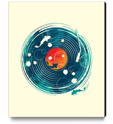Sound Of Water Canvas Print by StevenToang