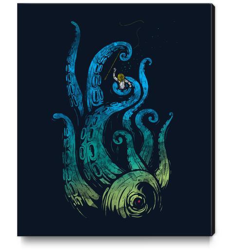 Undersea Attack Canvas Print by StevenToang