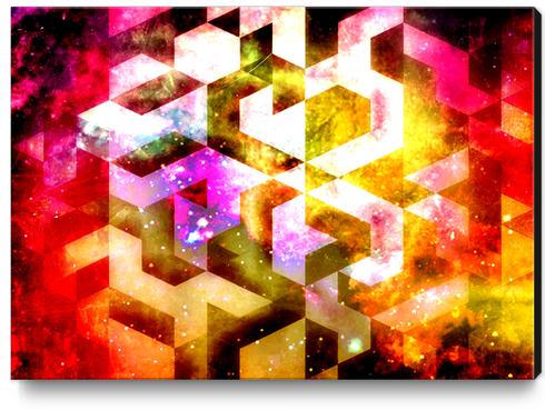 UNIVRANGLE Canvas Print by Chrisb Marquez