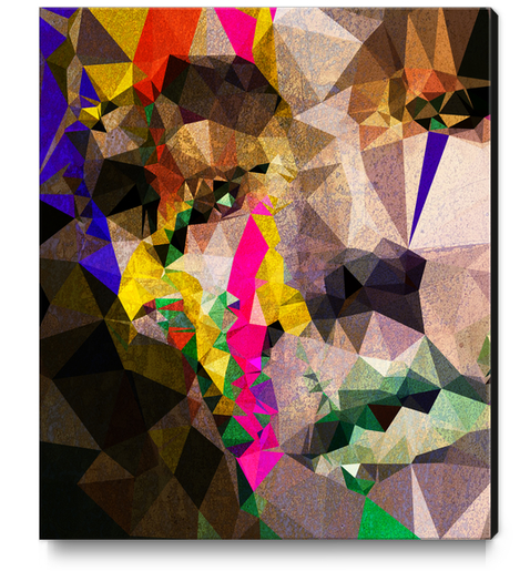 Colored Tears Canvas Print by Vic Storia