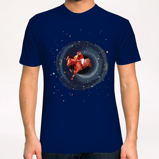 Black Hole Chase T-Shirt by tzigone