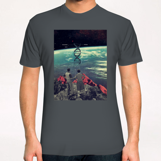 Distance & Eternity T-Shirt by Frank Moth