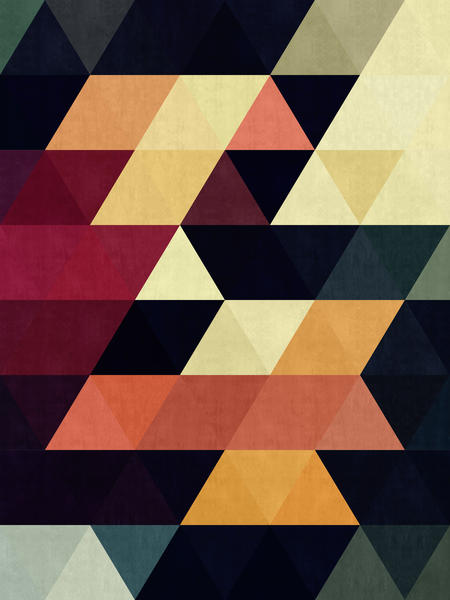 Pattern cosmic triangles by Vitor Costa