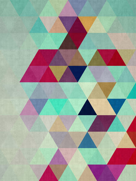 Pattern cosmic triangles II by Vitor Costa