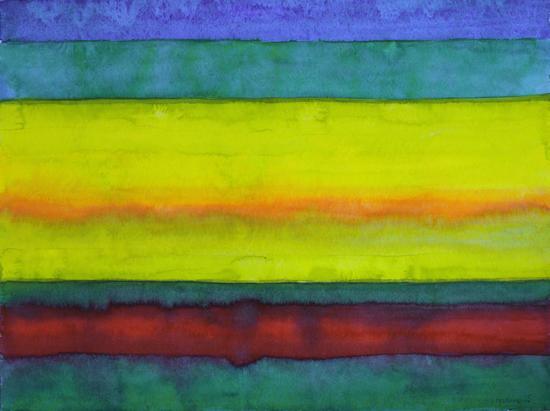 Summer Fields Stripes  by Heidi Capitaine
