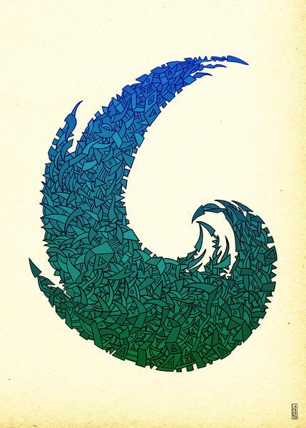 - summer '16 wave - by Magdalla Del Fresto