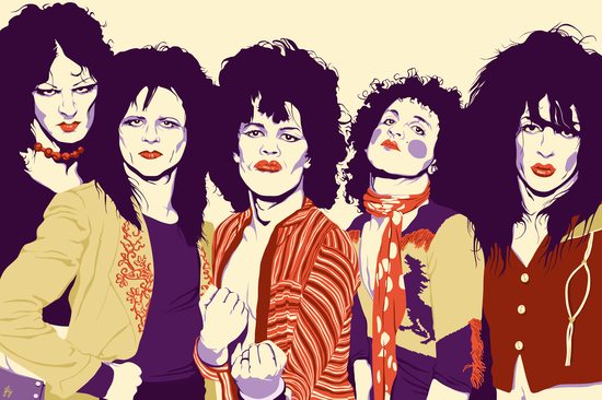 NEW YORK DOLLS by Francis le Gaucher