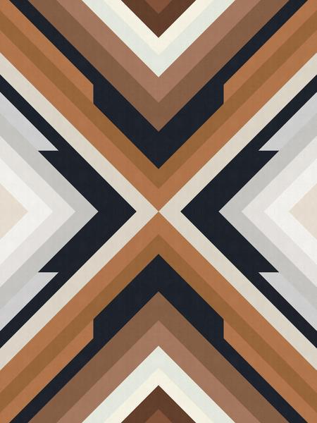 Dynamic geometric pattern by Vitor Costa