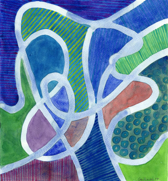 Curved Paths by Heidi Capitaine