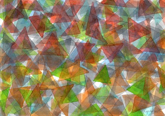 Triangle Jungle  by Heidi Capitaine