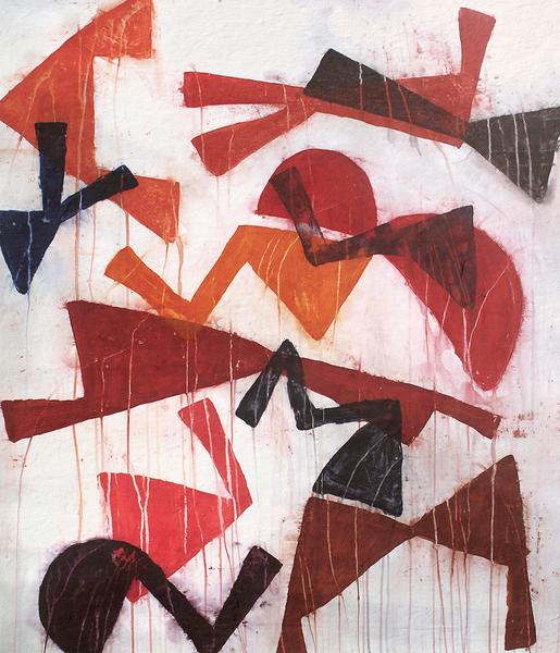 Composition 5 by Jean-Noël Bachès