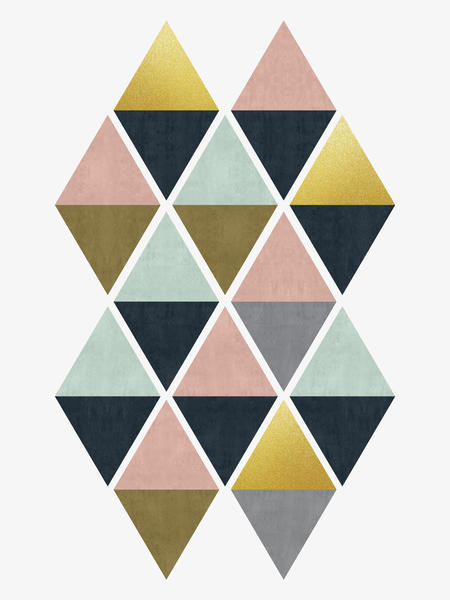 Colorful and golden triangles by Vitor Costa