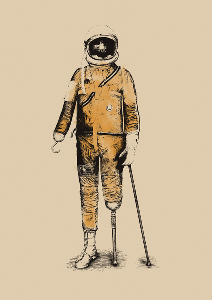Astropirate (Watercolors) by Florent Bodart - Speakerine