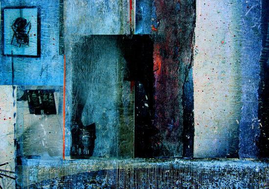 BEHIND THE MIRROR by db Waterman