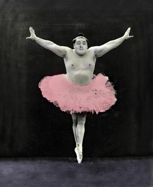 Sumo Ballet by tzigone