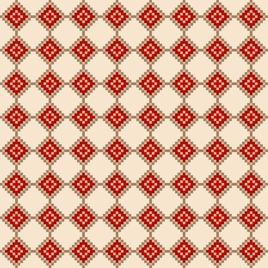 Pixelated Christmas by PIEL Design