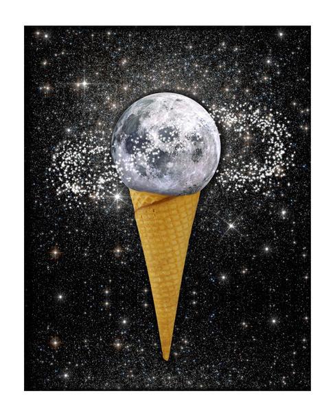 MOON ICE CREAM by GloriaSanchez