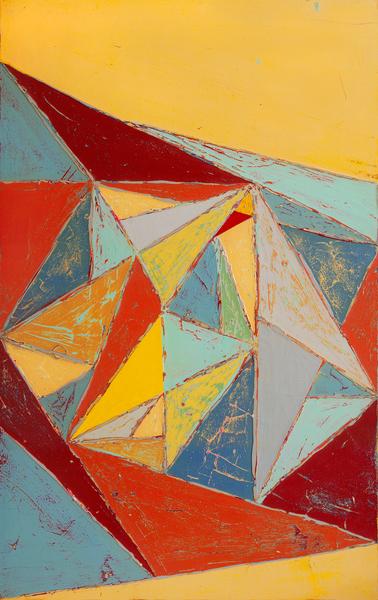 Cristallisation by Pierre-Michael Faure