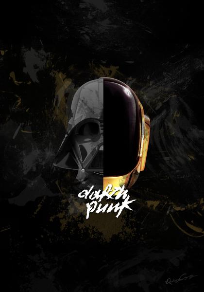 Darth Punk by Roberto Caporilli
