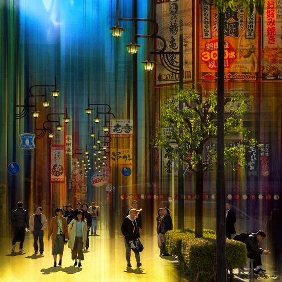 Déambulation - Osaka- Japan #0740 by Denis Chobelet