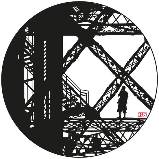 Eiffel tower #3 by Denis Chobelet