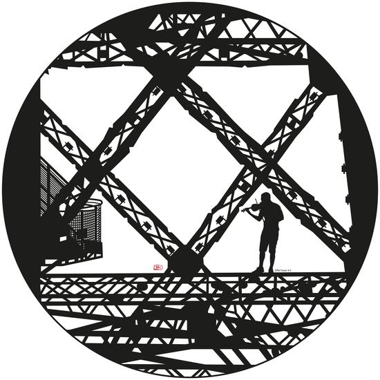 Eiffel tower #5 by Denis Chobelet