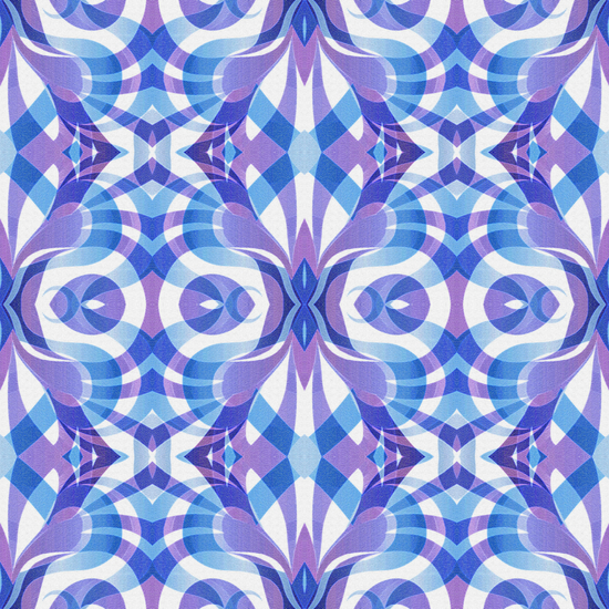 Floral Geometric Abstract G288 by MedusArt