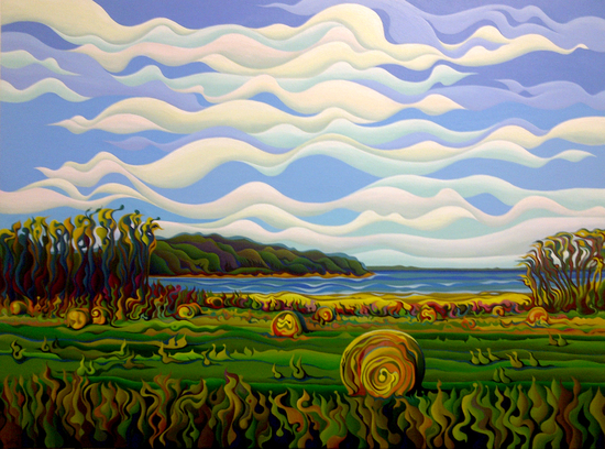 Gaspe's Grand Serenousphere by Amy Ferrari Art