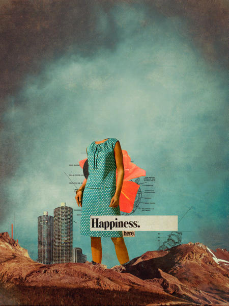 Happiness Here by Frank Moth