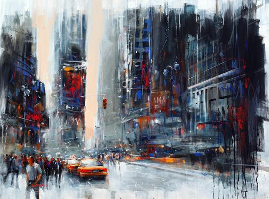 Glittering crowds by Vantame