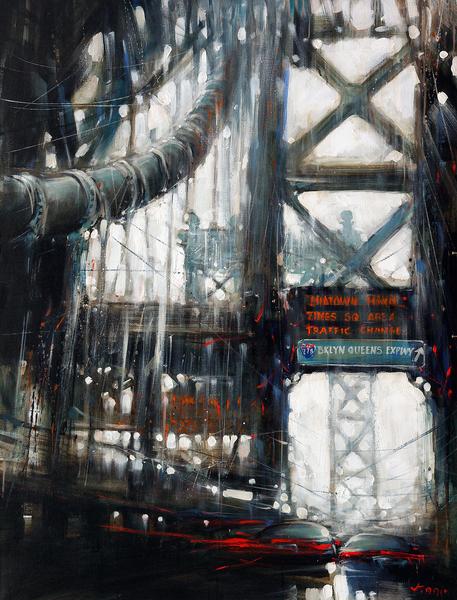 Brooklyn Bridge by Vantame