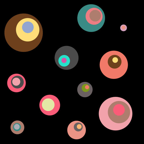 Colorful Circles by Christy Leigh