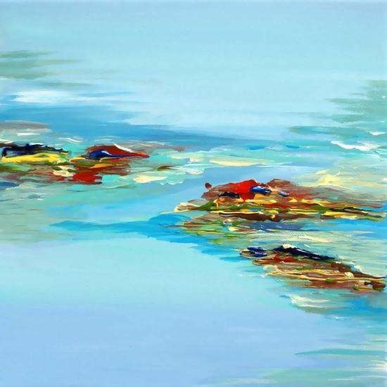 Coastal Scene by Irena Orlov