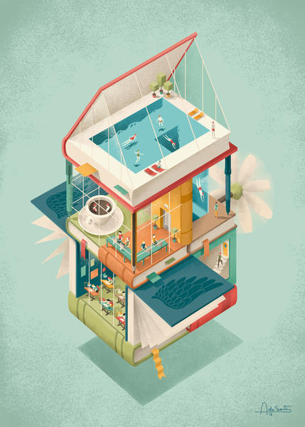 Creative house by Andrea De Santis