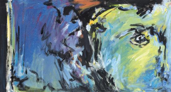 Lion Diptych - Left by Georgio Fabrello