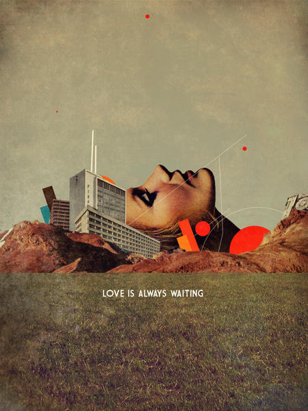 Love Is Always Waiting by Frank Moth