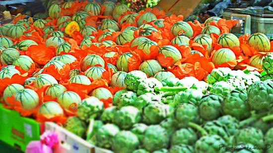Melons et arichauts (Braderie de Montigny-Les-Metz) by Stefan D