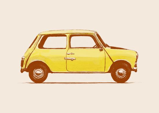 Famous Car - Mini Cooper by Florent Bodart - Speakerine