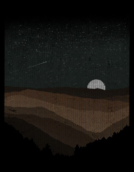 Moonrise (sepia) by Florent Bodart - Speakerine