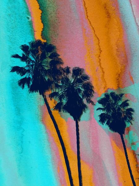 Los Angeles Palms by Irena Orlov