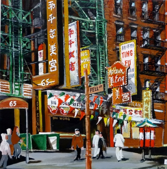 quartier chinois new york by Koen De Weerdt
