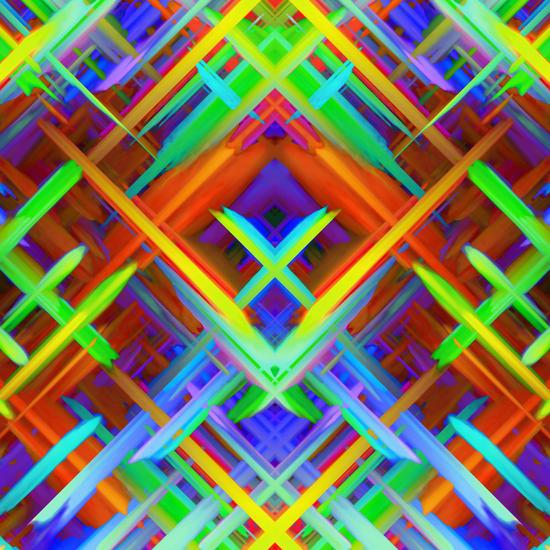 Colorful digital art splashing G466 by MedusArt