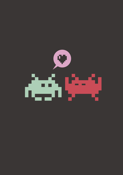 Pixel Love by Alex Xela