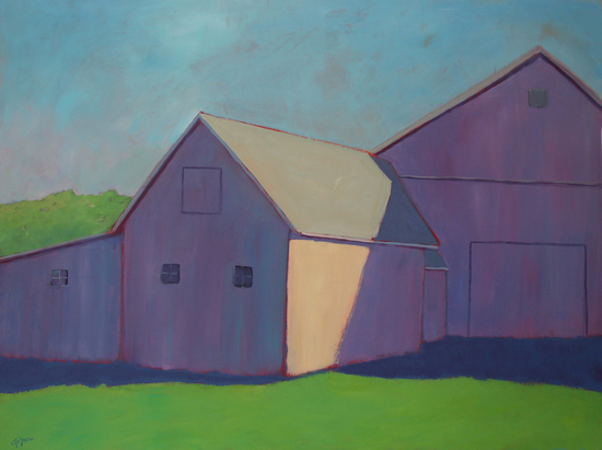 Purple Passion by Carol C Young. The Creative Barn